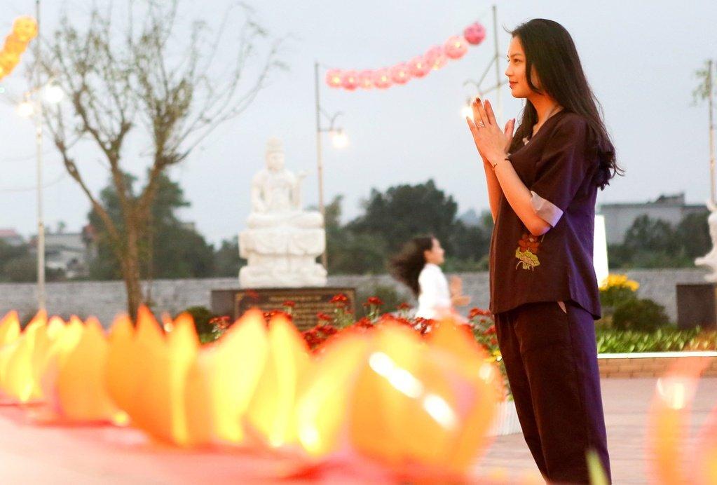 Đèn hoa đăng là nét văn hoa tâm linh có từ lâu đời