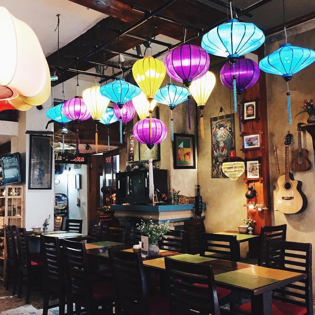 Đèn lồng cho quán cafe đẹp