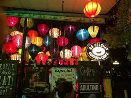 Đèn lồng cho quán cafe