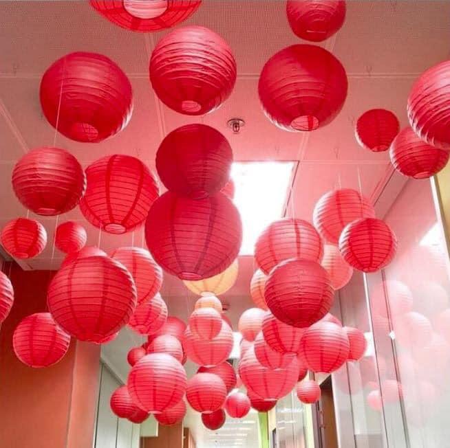 Lồng Đèn Nhật Bản - Dạng Tròn trang trí sự kiện